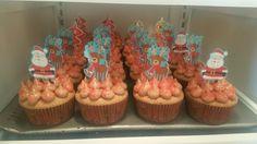 Chocolate orange spice cupcakes with chocolate orange buttercream frosting