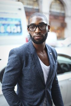 London Fashion by Paul: Street Muses...LCM...@Margaret Howell Autumn/Winter 2013...Tinie Tempah