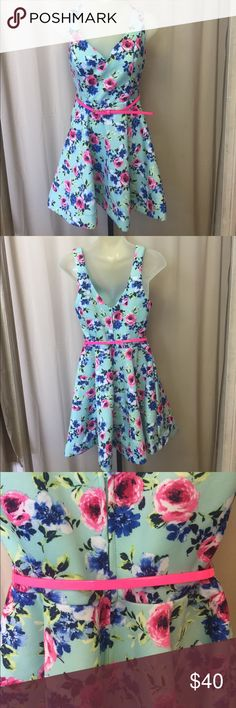Perfect Spring Dress⚡️lowest⚡️ Love this gorgeous Spring Dress NWOT Never Worn B Darlin Dresses