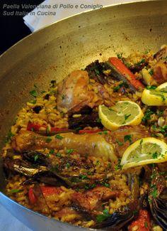 Paella di Pollo e Coniglio http://blog.giallozafferano.it/suditaliaincucina/?p=810