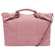 674227a47d5f9 Ted Baker Salbee Pop Hand Leather Large Tote Bag at John Lewis   Partners