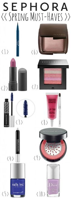 Sephora Spring Must Haves + 100 Sephora Gift Card Giveaway!