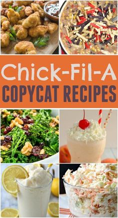Want some Chick-fil-A nuggets or a frosted lemonade right at home? These Chick-Fil-A copycat recipes are delicious and simple to make. (Chick Fil A Chicken Nuggets) Chick Fil A Sauce, Chick Fil A Nuggets, Copykat Recipes, Gourmet Recipes, Cooking Recipes, Healthy Recipes, Cooking Ideas, Dinner Recipes, Snack Recipes