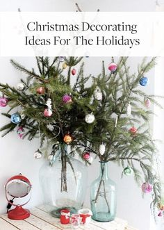 Save this for a variety of festive Christmas decorating ideas for the holidays.