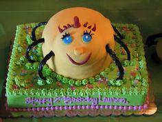 Miss Spider Sunny Patch Birthday Cake