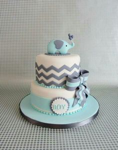 Cute Cake but with navy