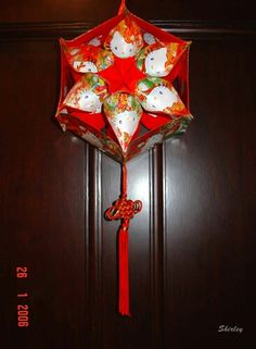 Red Packet - 6-Point Star Chinese Lantern
