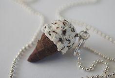 Cookies N Cream Charm Miniature Food by Sweetnsavorytrinkets, $10.00