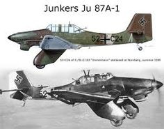 Risultati immagini per JU 87 A