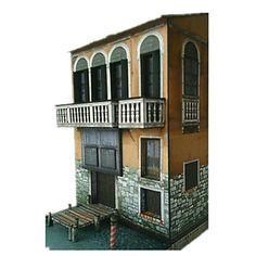 3D palapeli Paperityöt Kuuluisa rakennus DIY Klassinen Unisex Lelut Lahja 3d Puzzles, Unisex, Mansions, House Styles, Home Decor, Decoration Home, Manor Houses, Room Decor, Villas
