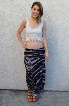 Crochet crop top from Dreamgirls   Ocean Beach, CA