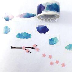 Clouds Washi Tape