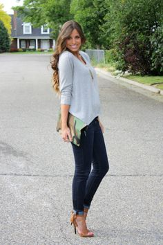 but with flats.  Like the camo clutch and the necklace.