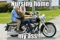 this will prob be teresa way far in the future :D bikers baby til the ... end of time :D