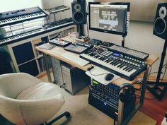 home recording studio   Tumblr: