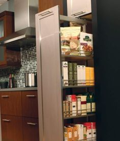 roll out pantry cabinet