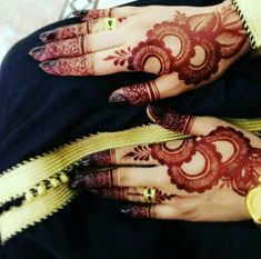 arabic, mehndi, and arabic mehndi designs image Khafif Mehndi Design, Floral Henna Designs, Indian Henna Designs, Henna Art Designs, Mehndi Designs 2018, Mehndi Designs For Girls, Stylish Mehndi Designs, Dulhan Mehndi Designs, Mehndi Design Photos