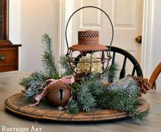 Rustic Christmas Decorating Ideas   green holiday decor and eco friendly christmas decorating in vintage ...