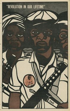 Black Panther, November 8, 1969  Offset lithograph  20 1/3 x 14 in (51.5 x 35.6 cm)  Collection Alden and Mary Kimbrough  © 2009 Emory Douglas / Artists Rights Society (ARS), New York @newmuseum