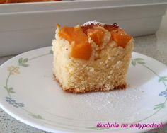 Ciasto brzoskwiniowe  http://kuchnianaantypodach.blogspot.com.au/2015/12/ciasto-brzoskwiniowe.html
