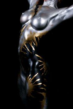 Body painting art...