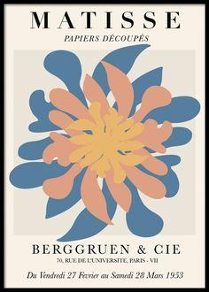 Matisse Kunst, Matisse Prints, Matisse Art, Henri Matisse, Matisse Cutouts, Abstract Flowers, Abstract Art, Abstract Paintings, Oil Paintings