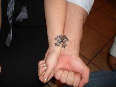 24 Elegant Best Friends Wrist Tattoo Designs