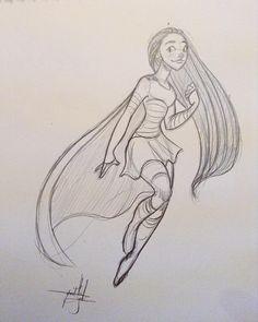 Quick sketch. #drawing #sketch #characterdesign #superhero #superheroine #girldrawing #femaleartist #dutchartist #artistsontumblr #artistsoninstagram