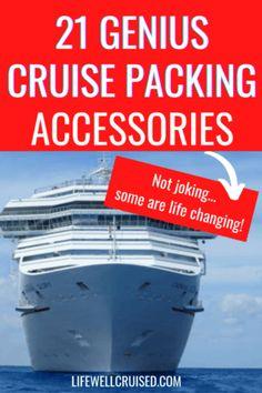 21 genius cruise packing accessories