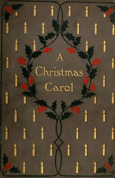 A Christmas Carol...Charles Dickens   1900 to be made into a mini book for an OOAK doll.