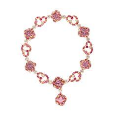 Fabergé Rococo Pink Spinel Bracelet #Fabergé #Rococo #spinel #bracelet