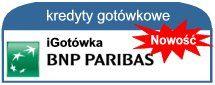 iGotówka, to wspaniała oferta pożyczki online BNP Paribas Banku. Do 20 tyś. zł przez Internet. Pieniądze już w 20 min. Sprawdź http://www.pozyczki-ok.pl/kredyty-gotowkowe/