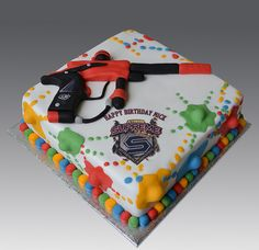Paintball Supreme Cake | Flickr - Photo Sharing!
