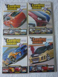 Lot de 4 DVD TUNING MANIA divers neuf sous blister ebay brunomimi2008