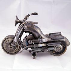 Original gifts for men Original Gift Original gift for him Metal Art Sculpture, Modern Sculpture, Gifts For Husband, Gifts For Him, Motorcycle Types, Sculptures For Sale, Original Gifts, Metal Artwork, Art For Sale
