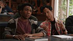 Troy and Abed: bffs