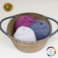 Here's another fave: Color Palette - New Basic 175 Yarn - Twilight