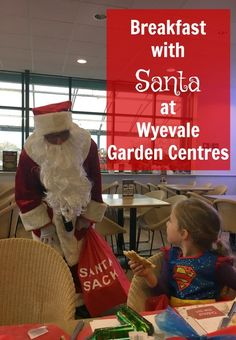 Breakfast with Santa at Wyevale Garden Centres @WyevaleGC