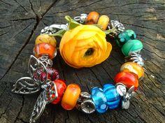 A beautiful bracelet from a dear Dutch Trollbeads Gallery Forum member! www.TrollbeadsGalleryForum.ning.com