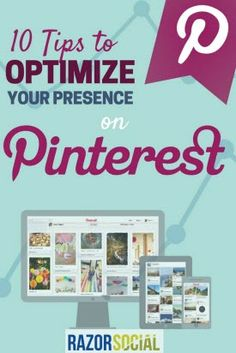 How to use Pinterest successfully. Find out how to optimize your Pinterest profile and effectively get website clicks.
