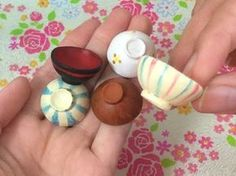 how to: miniature bowls                                                                                                                                                                                 More