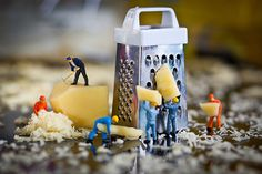 Tiny people in the small world of photographer David Gilliver