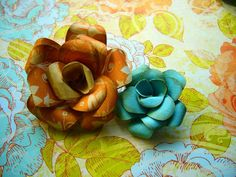Do It Yourself Wedding Project: Paper Roses Video Tutorial | Pixel & Ink