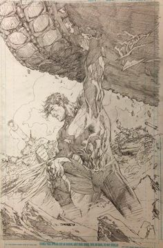 Awesome Jim Lee 'Supes'!