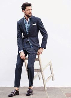 37 Best Men's Fashion Styles for Men Looks More Cool Style Blog, Mode Style, Men's Style, Hair Style, Gentleman Mode, Gentleman Style, Dapper Gentleman, Mens Fashion Blog, Best Mens Fashion