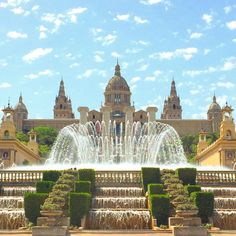 Palau Nacional, Montjuïc, Barcelona