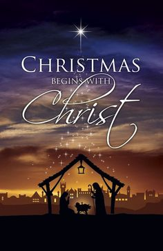 Jesus is the reason for the season. True meaning of Christmas
