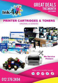 Printer Cartridges and Toners in Pretoria South Africa