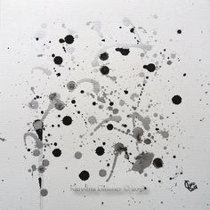Silver Overflow, Karolina Gassner ink painting centimeters, in a mount Group Art, Ink Drawings, Ink Painting, Paintings, Abstract, Handmade Gifts, Gallery, Silver, Etsy