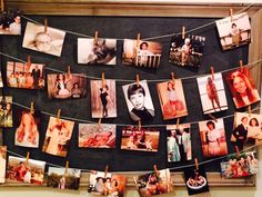 A photo timeline collage: 60th Birthday Party Ideas for Mom
